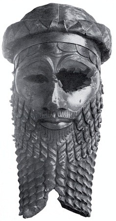 Head of Akkadian Ruler, 2250-2200 B.C.E. (Iraqi Museum, Baghdad - looted?)
