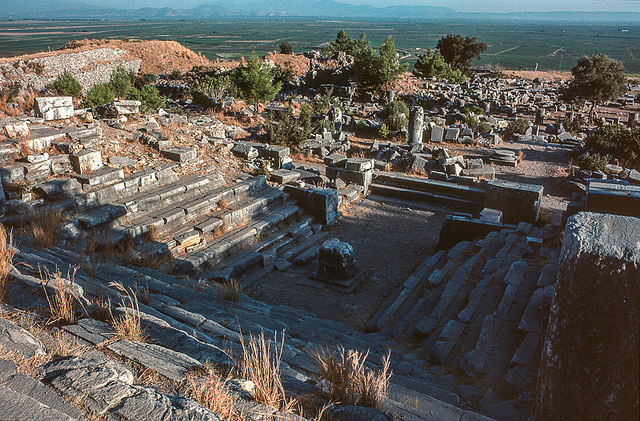 Bouleuterion, Priène (Turkey), c. 200 B.C.E. (photo: Jacqueline Poggi, CC BY-NC-ND 2.0)