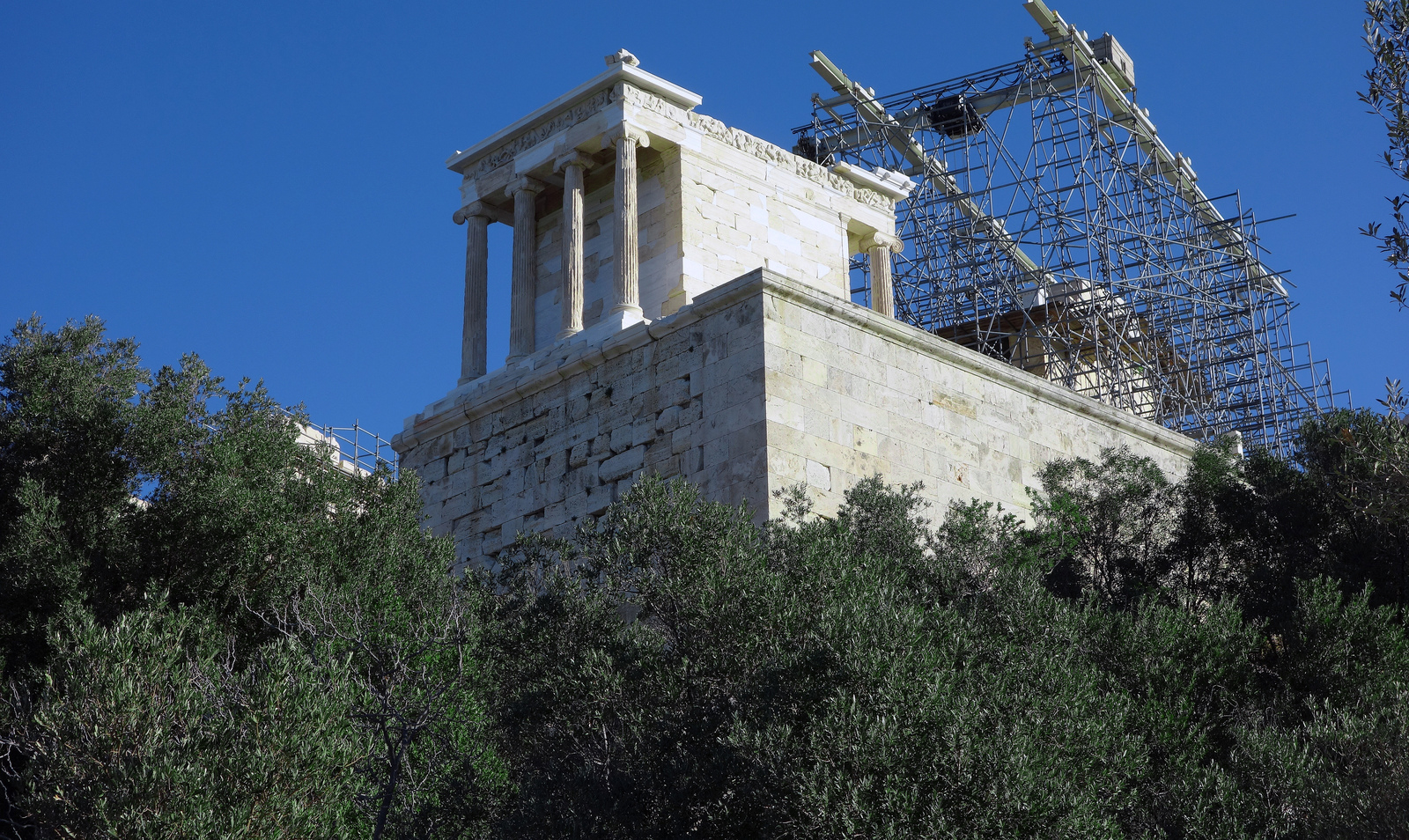 Temple Of Athena Nike On The Athenian Acropolis Article Khan Academy