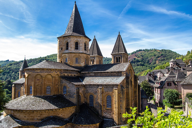 Church of Sainte‐Foy, Conques, France, c. 1050–1130 (photo: jean françois bonachera, CC BY-NC-ND 2.0)