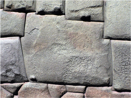 Twelve-sided stone, Cusco, c. 1440-1540 (photo: Sarahh Scher, CC BY-NC-SA 2.0)
