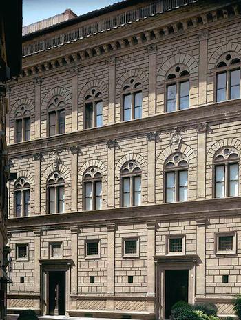 Leon Battista Alberti, Palazzo Rucellai, c. 1446-5, Florence (Italy)