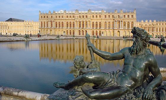 Vue du château de Versailles depuis le par, 1664-1710 (photo: Marc Vassal, CC BY-SA 2.0)