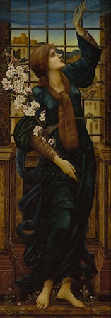 Sir Edward Coley Burne-Jones, Hope, 1896, 179 x 63.5 cm, oil on canvas (Museum of Fine Arts, Boston)