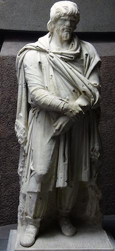 Captured Dacian, 106-112 (Vatican Museum) (photo: Steven Zucker CC BY-NC-SA 2.0)