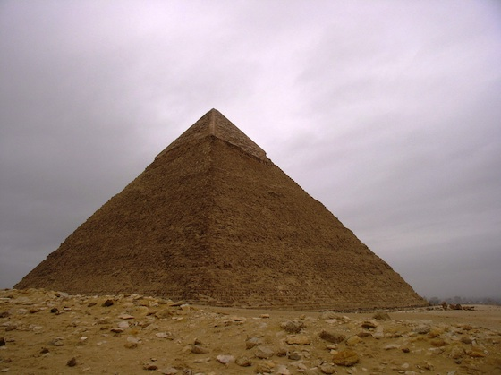Pyramid of Khafre (Photo: Dr. Amy Calvert)