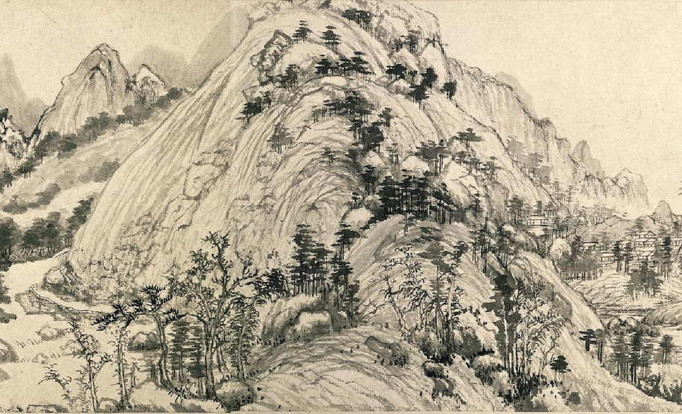 """The Master Wuyong Scroll,"" Huang Gongwang, Dwelling in the Fuchun Mountains, 1350, handscroll, ink on paper, 33 x 636.9 cm (National Palace Museum, Taipei)"