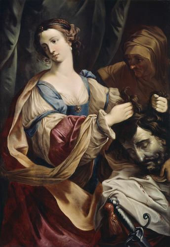 Elisabetta Sirani, Judith with the Head of Holofernes, 1638-55, oil on canvas, 129.5 x 91.7 cm (The Walters Art Museum)