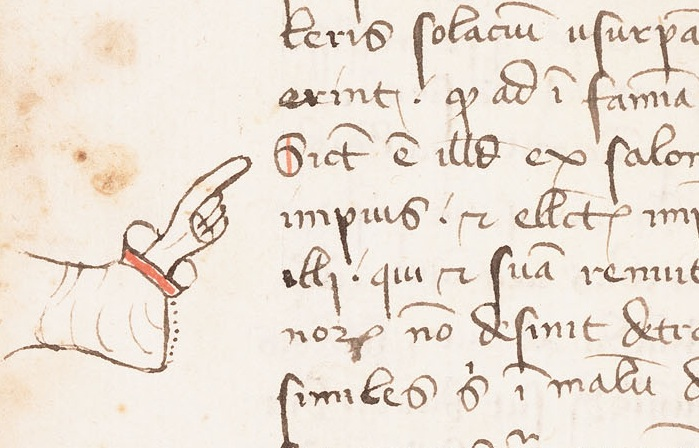 Isadore of Seville, Sententiae, Lawrence, University of Kansas, Kenneth Spencer Research Library, MS C54, fol. 96v (view selections of the manuscript here)