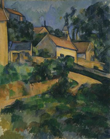 Paul Cézanne, Turning Road at Montgeroult, 1898, oil on canvas, 81.3 x 65.7 cm (Museum of Modern Art, New York)