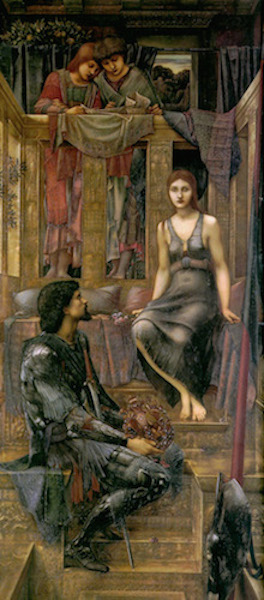 Edward Burne-Jones, King Cophetua and the Beggar Maid, oil on canvas, 1884, 293.4 x 135.9 cm (Tate Britain, London)