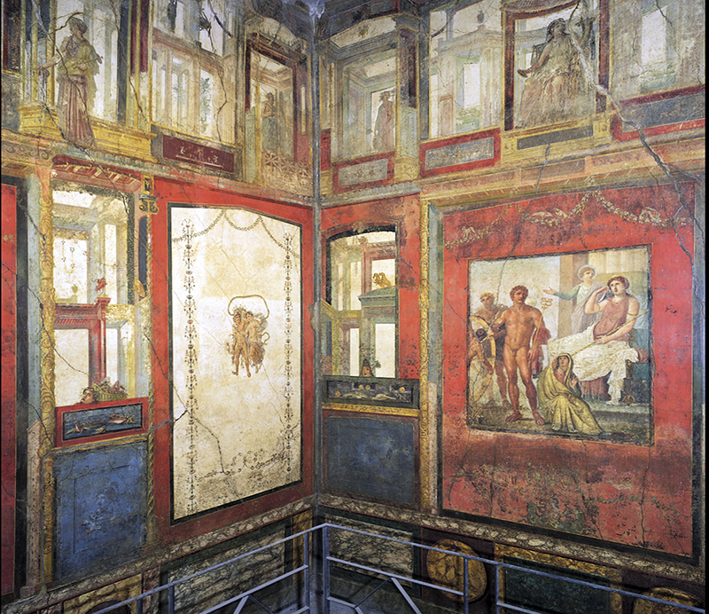Wall Painting Pompeii