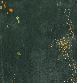 Detail, James Abbott McNeill Whistler, Nocturne in Black and Gold: The Falling Rocket, 1875, oil on panel, 60.2 x 46.7 cm (Detroit Institute of the Arts)