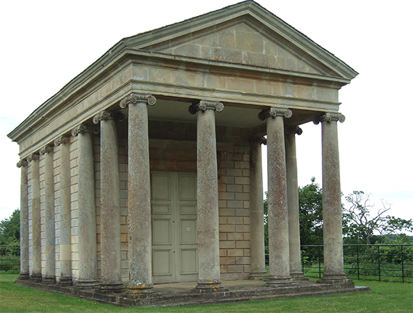 The Temple of Harmony, 1767, Halswell House, Somserset, England