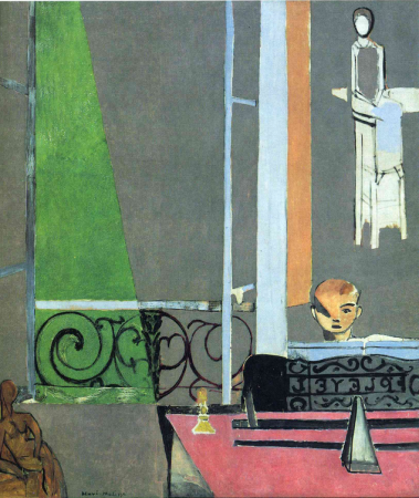 Henri Matisse, The Piano Lesson, 1916, oil on canvas, 245.1 x 212.7 cm (The Museum of Modern Art, New York City)