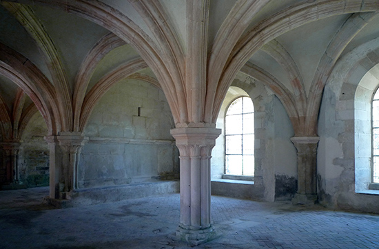 Chapter House, Fontenay Abbey