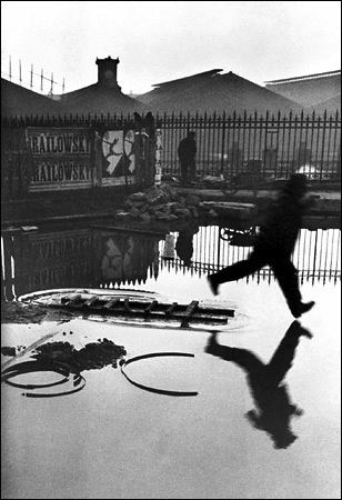 Henri Cartier-Bresson, Behind the Gare St. Lazare, 1932