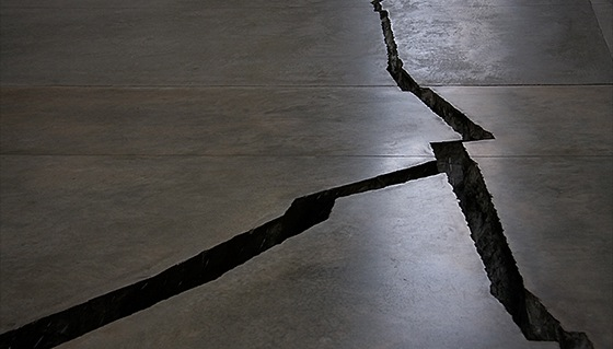 Doris Salcedo, Shibboleth, 2007-08, Tate Modern (photo: Dallas Ewing, CC BY-NC-SA 2.0-altered)