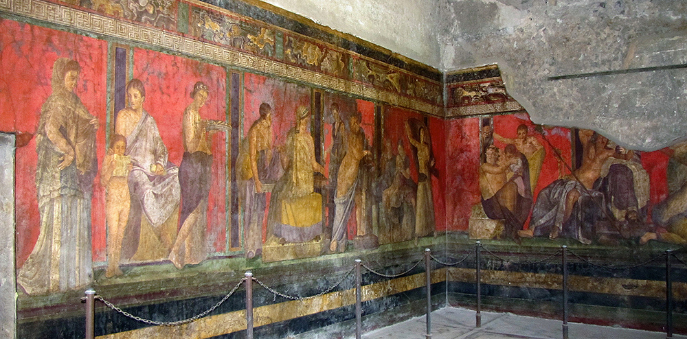 Roman wall painting styles wall painting khan academy for Mural examples