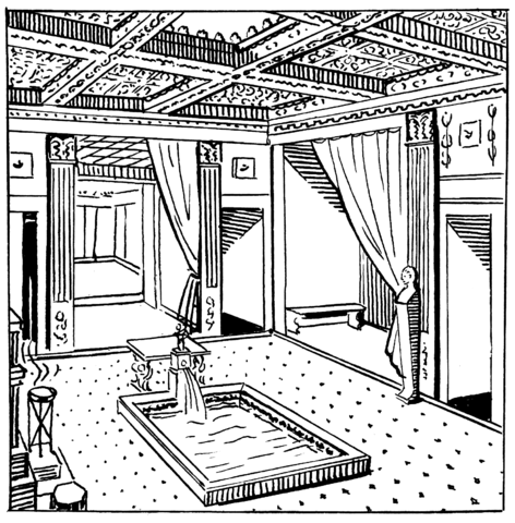 Illustration of an atrium (source)