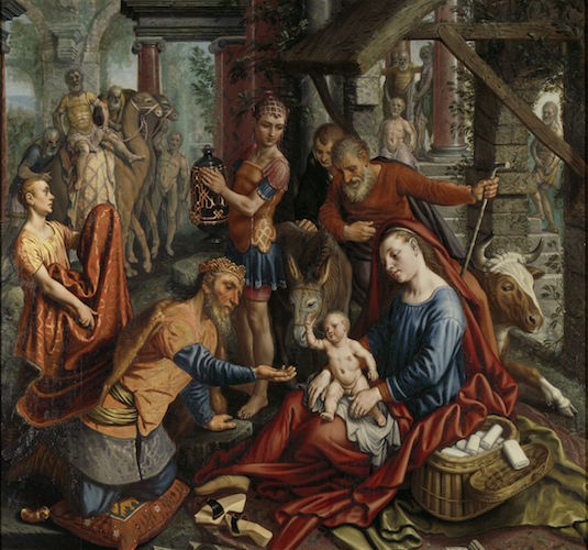 Pieter Aertsen, The Adoration of the Magi, c. 1560, oil on panel, 167.5 x 180 cm (Rijksmuseum, Amsterdam)