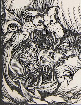 Albrecht Dürer, The Four Horsemen of the Apocalypse, 1498 (detail)