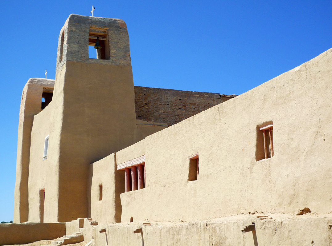 Mission Church of San Esteban del Rey, 1629, Acoma Pueblo