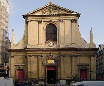 Basilica of Notre-Dame-des-Victoires, Paris, consecrated 1666