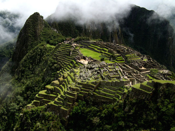 Machu Picchu, Peru, c. 1450–1540, terraces can be seen to the left (photo: Max Reiser, CC BY-NC-ND 2.0)