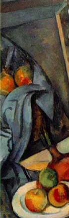 Detail, Paul Cézanne, Still Life with Plaster Cupid, c. 1894, oil on canvas, 70.6 x 57.3 cm (Courtauld Gallery, London)