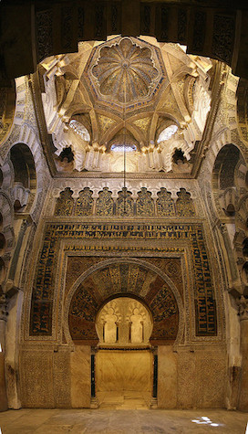 Mihrab dome, Great Mosque at Cordoba, photo: bongo vongo (CC BY-SA 2.0)