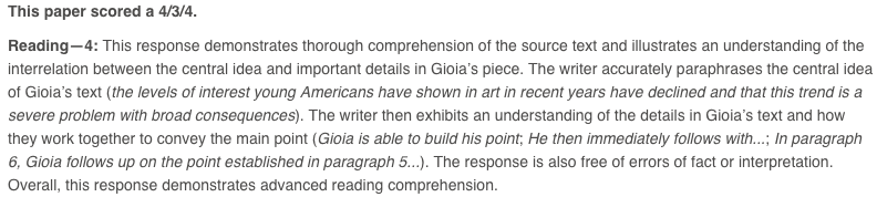 Sat Essay Glossary Article Khan Academy