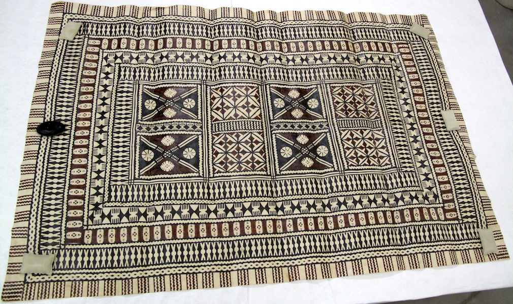 Masi (bark cloth), Fiji (Auckland War Memorial Museum, accession no. 1990.54)