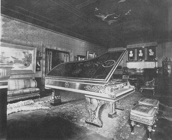 Music Room in the mansion of Henry Marquand
