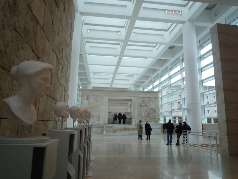 Richard Meier and Partners, Ara Pacis Museum, Rome, 2006