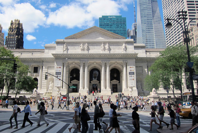 Carrère & Hastings, The New York Public Library, 1902 and after, New York City (photo: wallyg, CC BY-NC-ND 2.0)