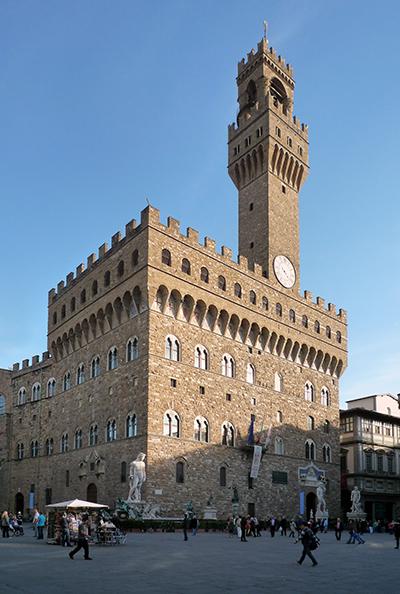 Arnolfo di Cambio, Palazzo Vecchio, 1299-early 1300s, Florence