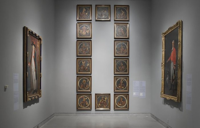 Series of 14 portraits of the Inca Kings, probably mid-18th century, oil on canvas, Peru (Brooklyn Museum)