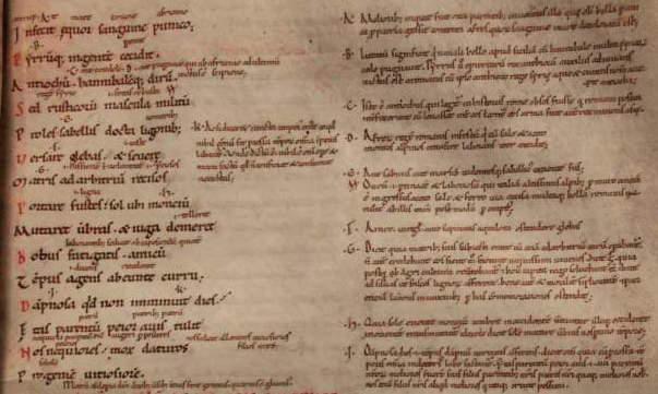 Leeuwarden, Tresoar, 45HS, fol. 45r (c. 1100), (photo: Erik Kwakkel)