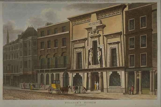 Peter Frederick Robertson, Egyptian Hall, 1812, (London (destroyed))