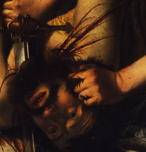 Artemisia Gentileschi, Judith Slaying Holofernes ...