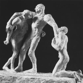 The first version of The Age of Maturity, by Camille Claudel