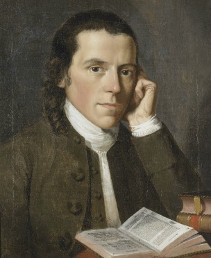 Gilbert Stuart, Benjamin Waterhouse, 1775, oil on canvas, (Redwood Library and Athenaeum, Newport, Rhode Island)