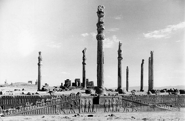 Apadana staircase, Persepolis, Iran