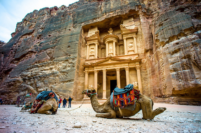 So-called Treasury (Khazneh), Petra (Jordan), 2nd century C.E. (photo: Colin Tsoi, CC BY-ND 2.0)