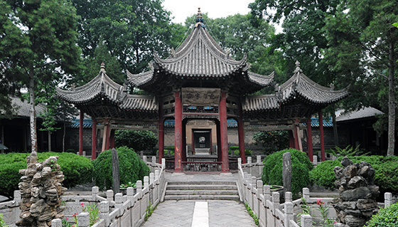 Great Mosque of Xi'an, China, 1392 (photo: chensiyuan, CC BY-SA 3.0)