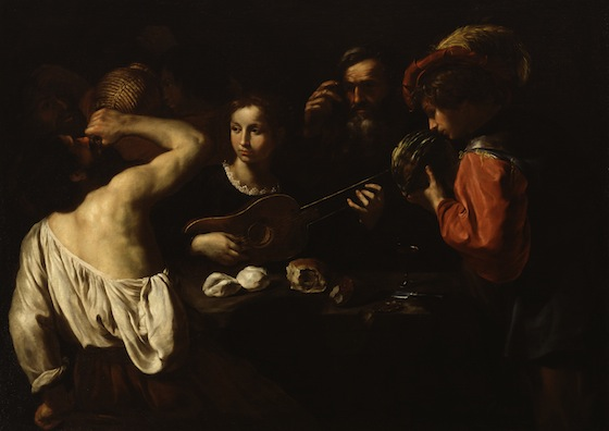 Pietro Paolini, Allegory of the Five Senses, c. 1630, oil on canvas, 125.1 x 173 cm (Walters Art Museum, Baltimore)