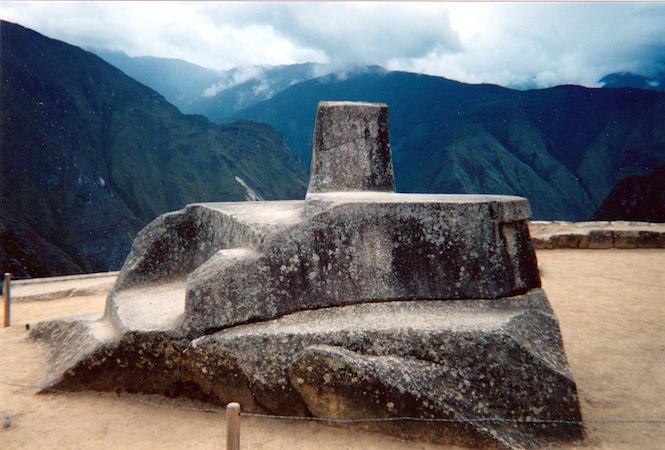 Intihuatana, Machu Picchu, Peru, c. 1450–1540 (photo: Sarahh Scher, CC BY-NC-SA 2.0)