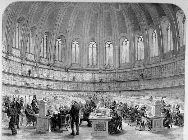 Sydney Smirke, The Reading Room, 1854-7, The British Museum (London)