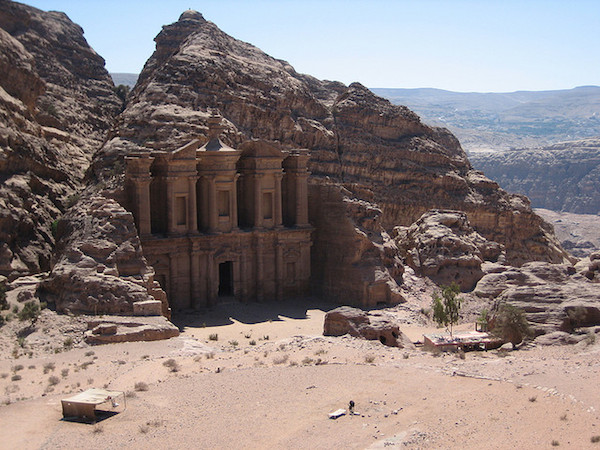 So-called Monastery, or ed-Deir, Petra (Jordan) (photo: April Rinne, CC BY-NC-SA 2.0)